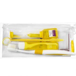Zestaw Ortodontyczny do czyszczenia zębów.